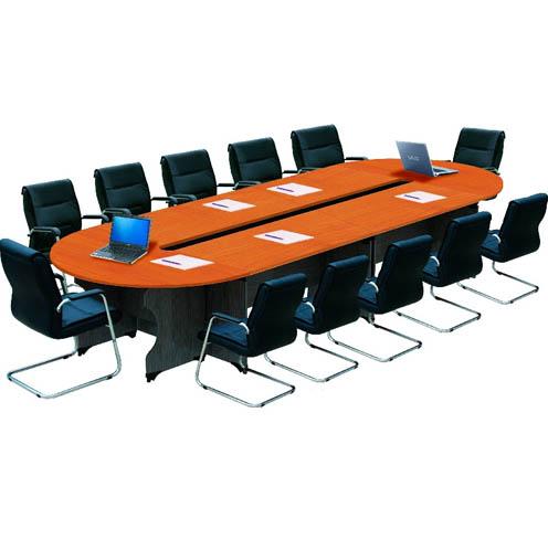 bàn họp quây rỗng mặt gỗ công nghiệp