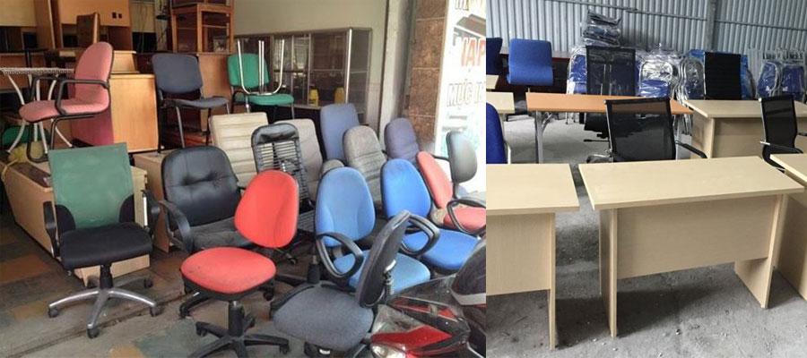 địa chỉ thu mua bàn ghế văn phòng cũ