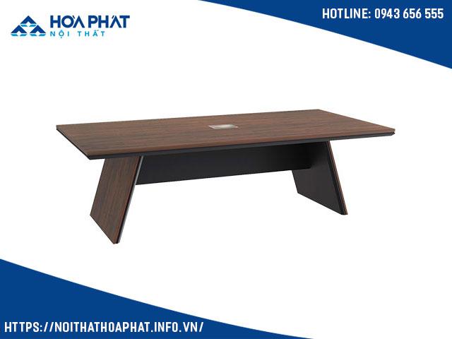 bàn họp gỗ công nghiệp hòa phát LUXH2412V4