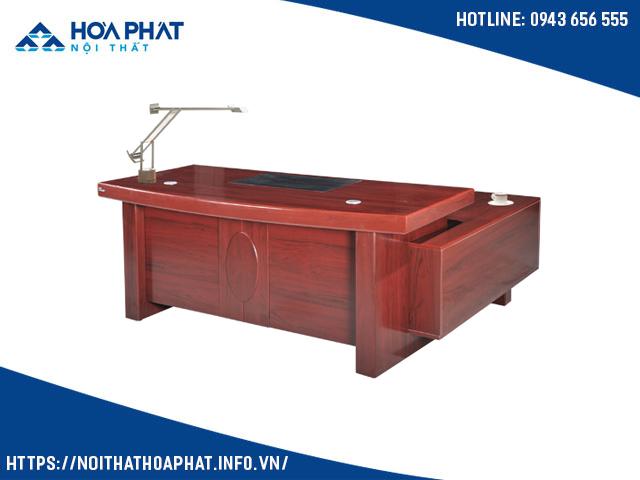 Bàn giám đốc gỗ sơn PU DT2010H4